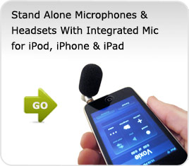 iPod Touch Microphones, iPod Touch Microphone Headsets