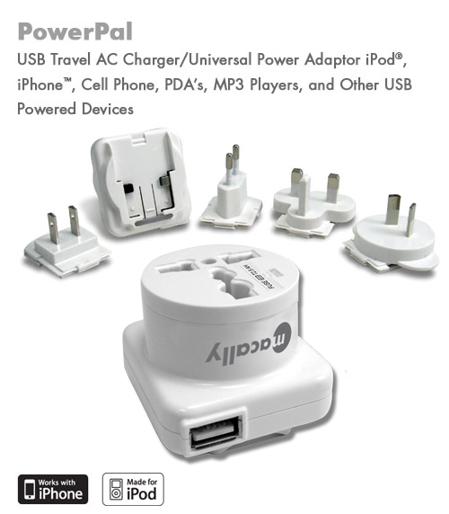 Macally PowerPal International Power Adapter Kit