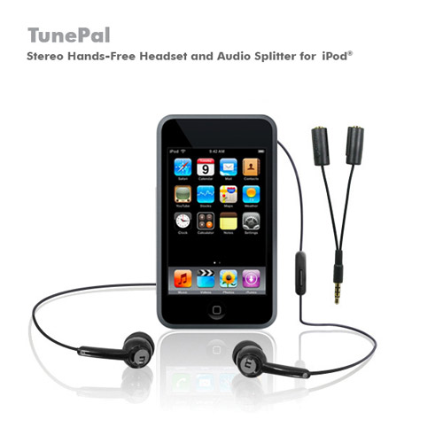 Macally TunePal Headset w/Microphone